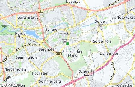 Stadtplan Dortmund OT Aplerbeck
