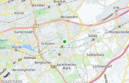 Stadtplan Dortmund OT Aplerbecker Mark