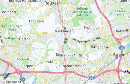 Stadtplan Dortmund OT Bövinghausen