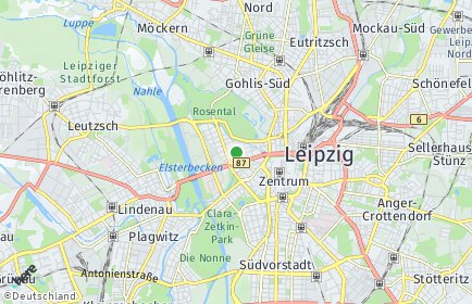 Stadtplan Leipzig OT Zentrum-Nordwest