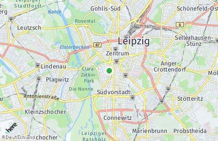 Stadtplan Leipzig OT Zentrum-Süd