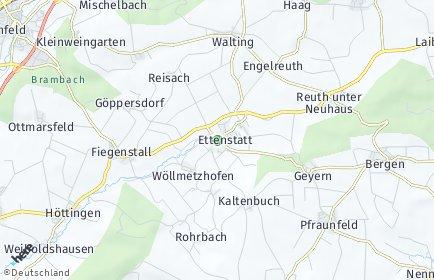 Stadtplan Ettenstatt