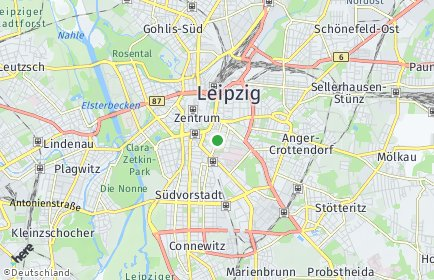 Stadtplan Leipzig OT Zentrum-Südost