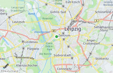 Stadtplan Leipzig OT Zentrum-West
