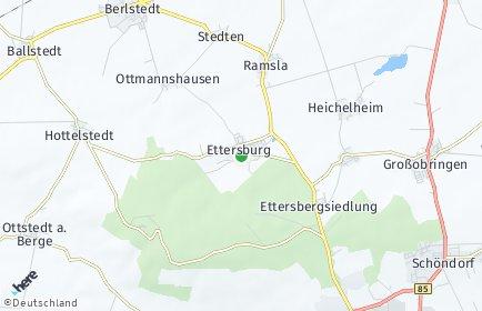 Stadtplan Ettersburg