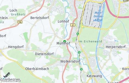 Stadtplan Nürnberg OT Holzheim