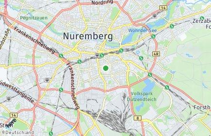 Stadtplan Nürnberg OT Lichtenhof