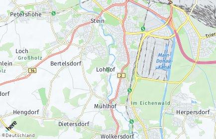 Stadtplan Nürnberg OT Lohhof
