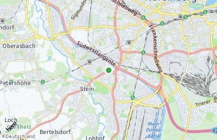 Stadtplan Nürnberg OT Neuröthenbach