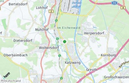 Stadtplan Nürnberg OT Reichelsdorfer Keller