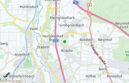 Stadtplan Nürnberg OT Schmalau