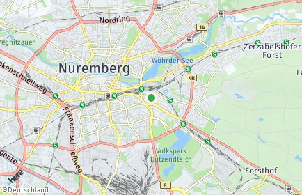 Stadtplan Nürnberg OT St. Peter