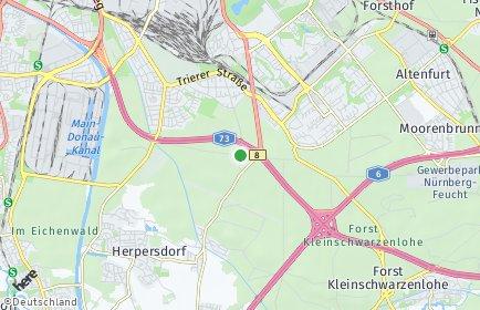 Stadtplan Nürnberg OT Steinbrüchlein