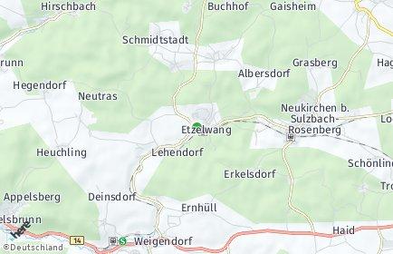 Stadtplan Etzelwang