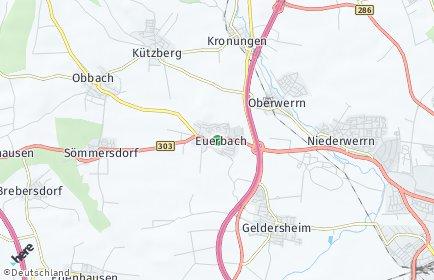 Stadtplan Euerbach