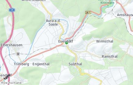 Stadtplan Euerdorf
