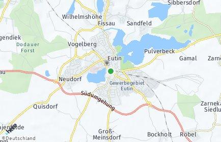 Stadtplan Eutin