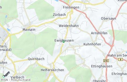 Stadtplan Ewighausen