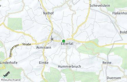 Stadtplan Extertal
