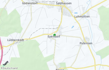 Stadtplan Eyendorf