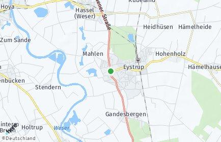 Stadtplan Eystrup
