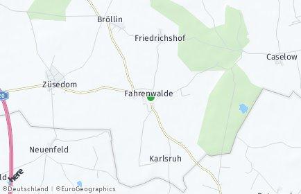 Stadtplan Fahrenwalde