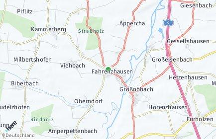 Stadtplan Fahrenzhausen