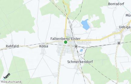 Stadtplan Falkenberg/Elster