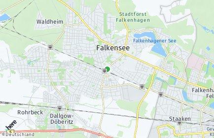 Stadtplan Falkensee