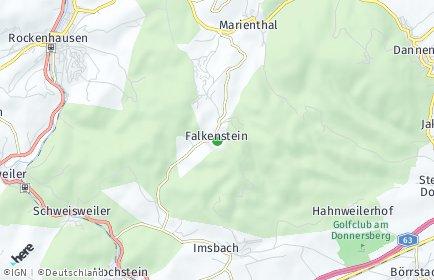 Stadtplan Falkenstein (Pfalz)