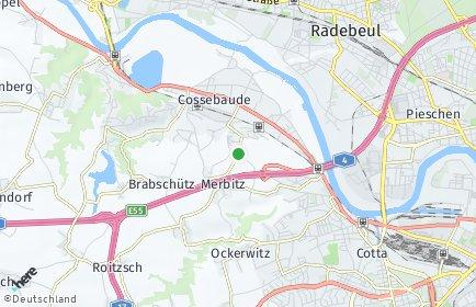 Stadtplan Dresden OT Mobschatz