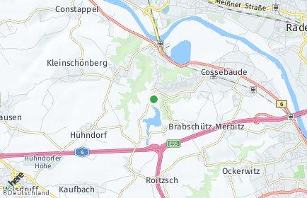 Stadtplan Dresden OT Oberwartha