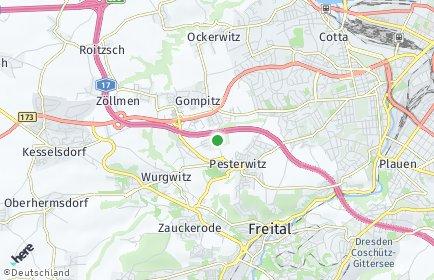 Stadtplan Dresden OT Altfranken