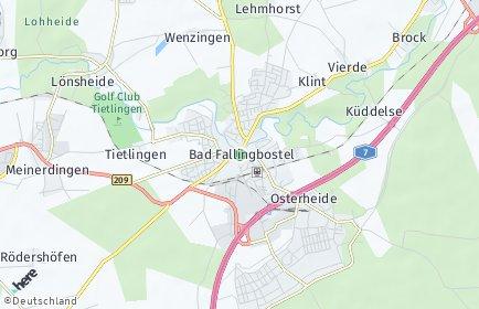 Stadtplan Bad Fallingbostel