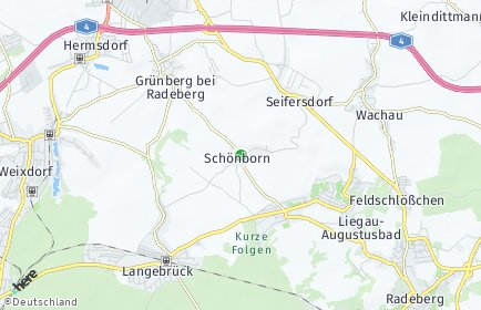Stadtplan Dresden OT Schönborn