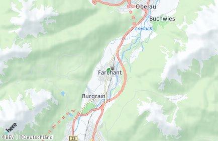 Stadtplan Farchant