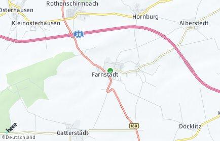 Stadtplan Farnstädt