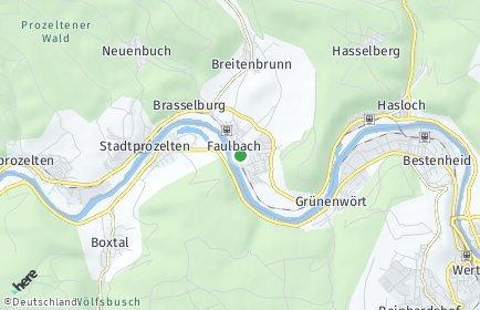 Stadtplan Faulbach
