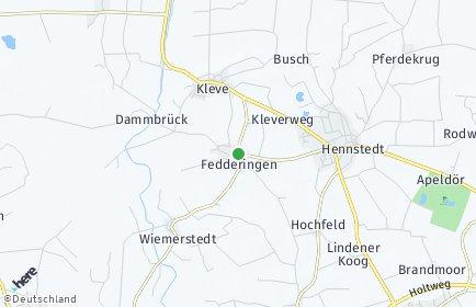 Stadtplan Fedderingen