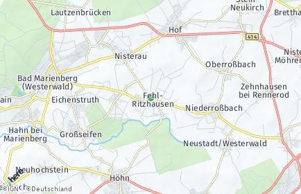 Stadtplan Fehl-Ritzhausen
