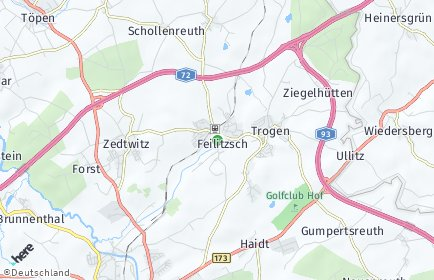 Stadtplan Feilitzsch