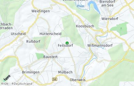 Stadtplan Feilsdorf