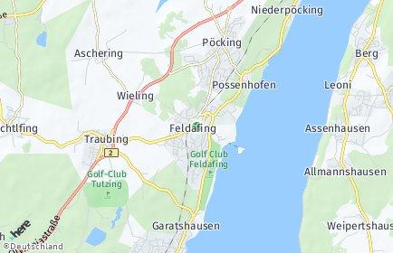 Stadtplan Feldafing