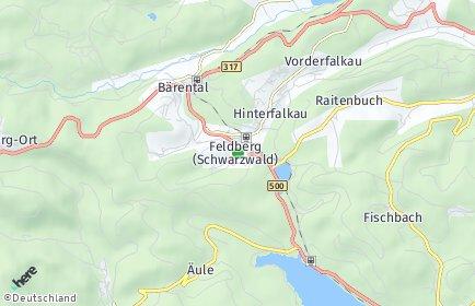 Stadtplan Feldberg (Schwarzwald)