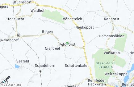 Stadtplan Feldhorst