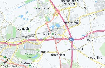Stadtplan Feldkirchen (München)