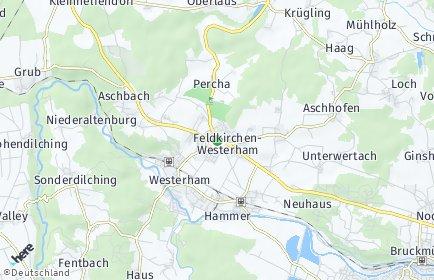 Stadtplan Feldkirchen-Westerham