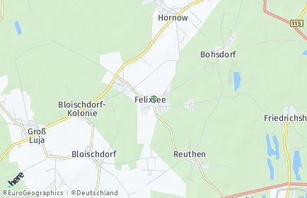 Stadtplan Felixsee