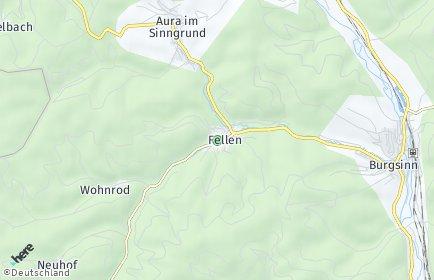 Stadtplan Fellen