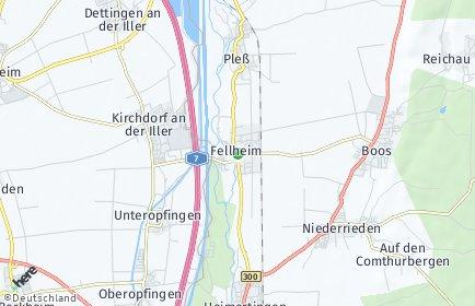Stadtplan Fellheim